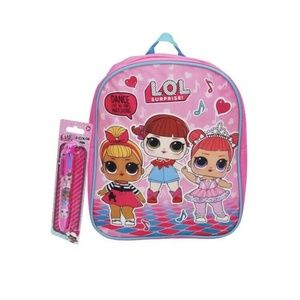 LOL Surprise! Small Backpack w/ 2pc Pen Set